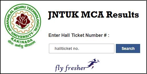 JNTUK MCA 4th Sem Results For R16, R13 Regular/Supply April 2019