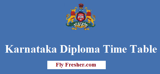 Btelinx-time-table-2020, Dte-karnataka-diploma-time-table