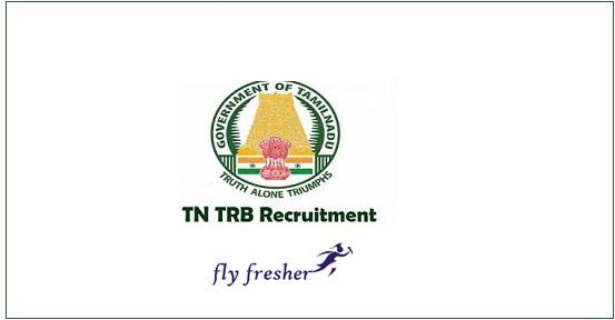 TN TRB Assistant Professor Jobs 2019 Notification For 2340