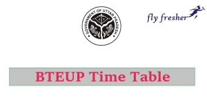 bteup-time-table, bteup-time-table-2019