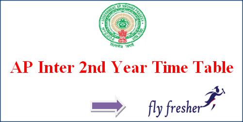 AP Inter 2nd Year Time Table, Manabadi AP Senior Inter Exam Date, AP Intermediate time table