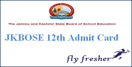 JKBOSE 12th Admit Card, JK Board Class 12 Hall Ticket, JKBOSE 12th hall ticket, JK Board 12th admit card, JKBOSE 12th roll number slip