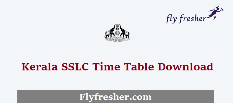 Kerala-SSLC-Time-Table