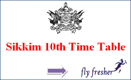 Sikkim-10th-Time-Table