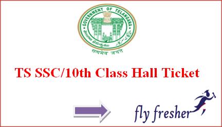 TS SSC Hall Ticket