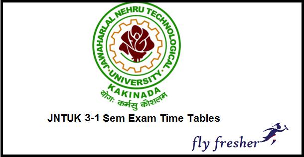 jntuk-b.tech-3-1-sem-time-table