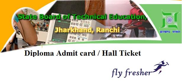 sbte-jharkand-admit-card