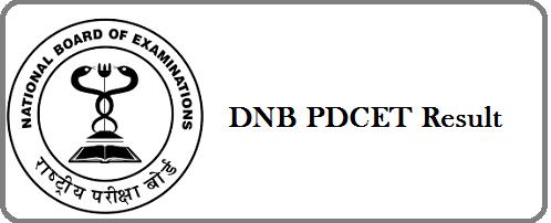 DNB-PDCET-Result