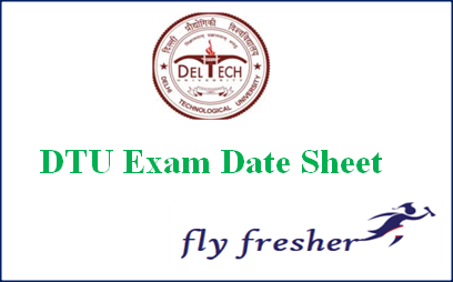 DTU-Date-Sheet