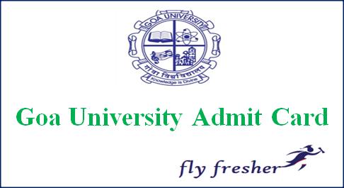 goa-university-admit-card
