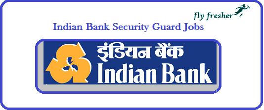 Indian-Bank- Security-Guard-Jobs