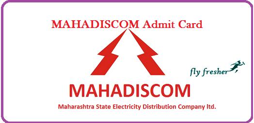 MAHADISCOM-Admit-Card