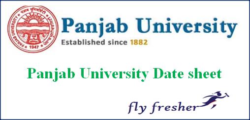 Panjab University Date Sheet 2020 Download Pu Ba Bsc Bcom Time Table