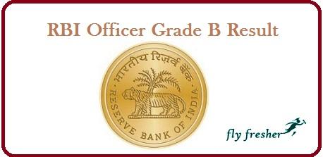 RBI-Officer-Grade-B-Result