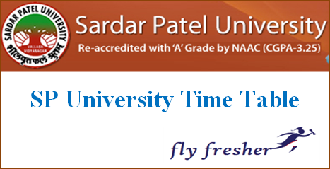 sp-university-time-table