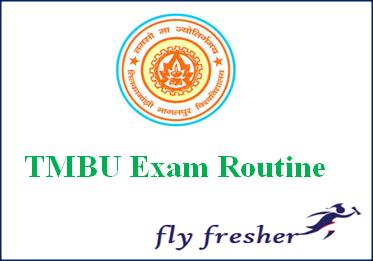 TMBU Exam Routine, TMBU part 1 time table, TMBU part 2 exam date sheet, TMBU exam schedule