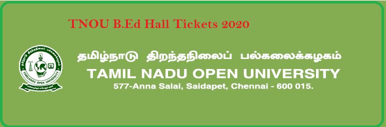 TNOU-B.Ed-Hall-Tickets-2019