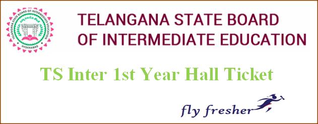 TS Inter 1st Year Hall Ticket, TS Intermediate Exam Dates, TS intermediate 1st year hall ticket, Telangana Inter 1st year hall ticket