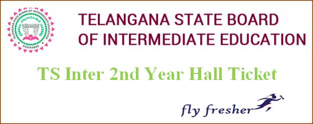 TS Inter 2nd Year Hall Ticket, Telangana 2nd year hall ticket, TS senior inter hall ticket, TS Inter hall ticket