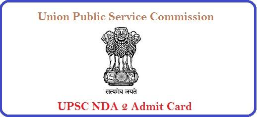 UPSC-NDA-2-Admit Card