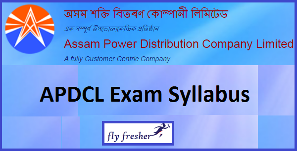 apdcl-junior-managers-syllabus