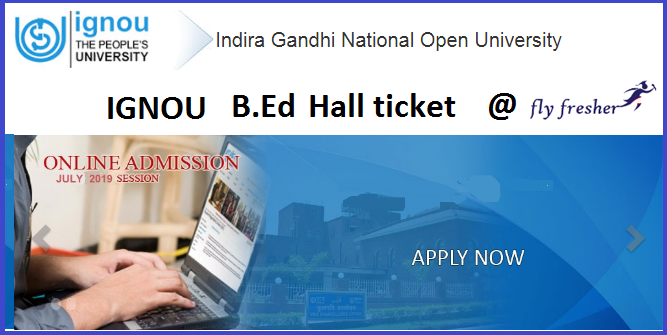 ignou-b-ed-hall-ticket-download