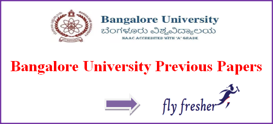 bangalore-university-question-papers