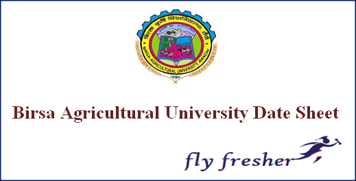 birsa-agricultural-university-date-sheet