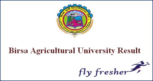 birsa-agricultural-university-result