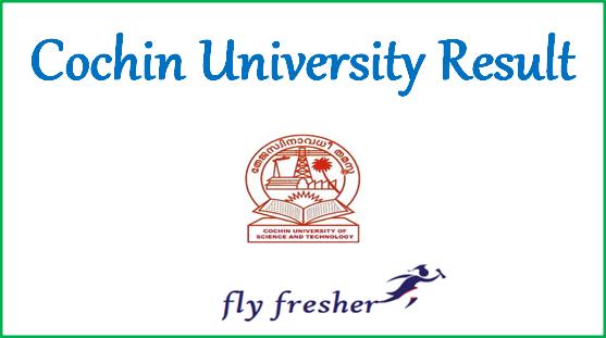 cochin-university-result