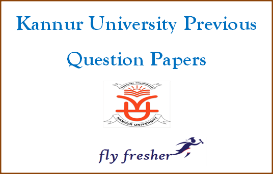 kannur-university-previous-question-papers