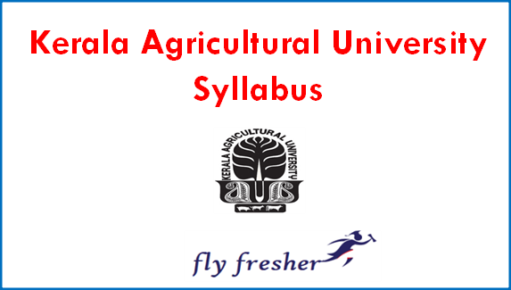 kerala-agricultural-university-syllabus
