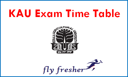 kerala-agricultural-university-time-table
