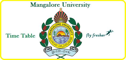 Mangalore-University-Time-Table