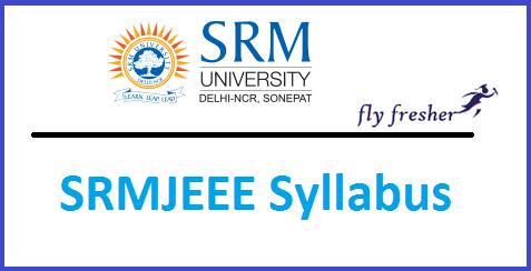 srmjeee-syllabus