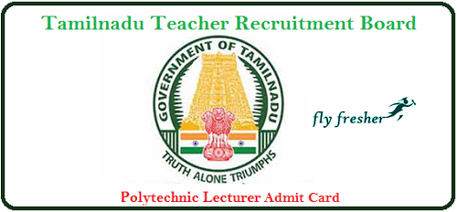 TN-TRB-Polytechnic-Lecturer-Admit-card