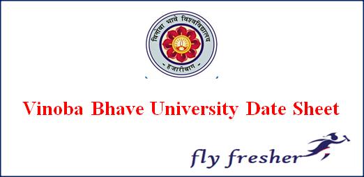 vinoba-bhave-university-date-sheet