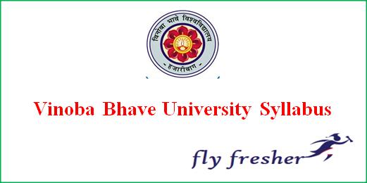vinoba-bhave-university-syllabus