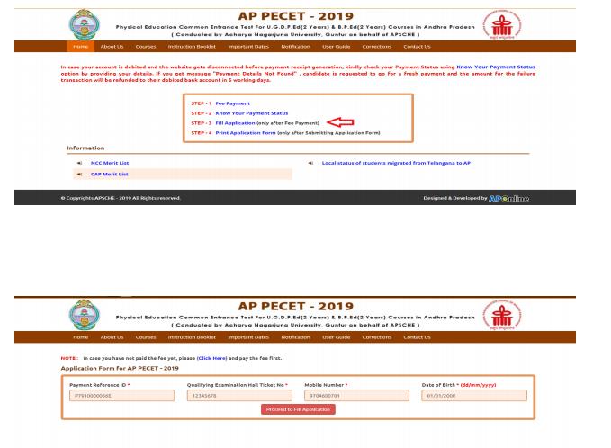 ap-pecet-online-Form-filling