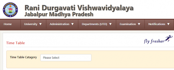 RDVV Time Table 2019 Download Check RDVV Semester Exam Time