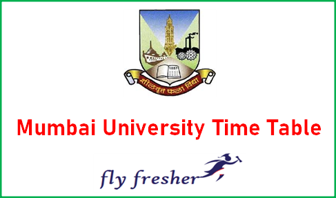mu-time-table, Mumbai-University