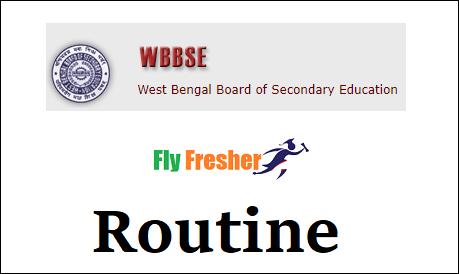 West-Bengal-Madhyamik-Routine