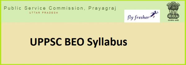 uppsc-beo-syllabus