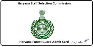 Haryana-Forest-Guard-Admit-Card