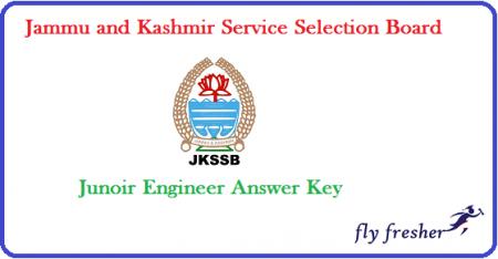 JKSSB-JE-Answer-Key
