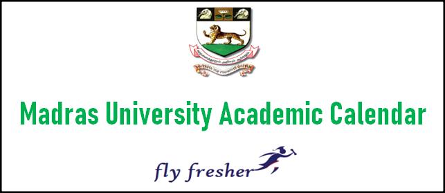 madras-university-academic-calendar