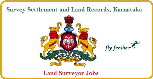 SSLR- Karnataka- Land-Surveyor-Jobs