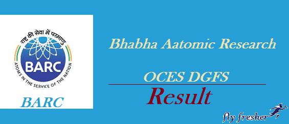 BARC-OCES-DGFS-Result