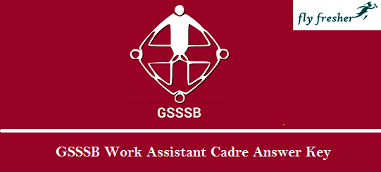 GSSSB-Work-Assistant-Cadre-Answer-Key
