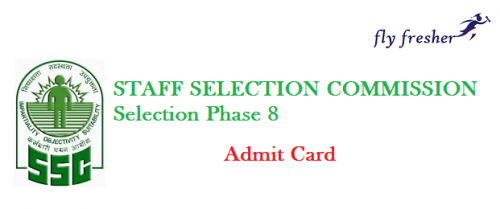 SSC-Selection-Phase-8-Admit-Card